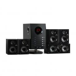 Areal 525 BK 5.1 aktives Surround Boxen Lautsprecher Set 125 Watt RMS Schwarz