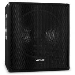 SMWA18 DJ PA 46cm Aktiv Subwoofer Box 1000W Lautsprecher