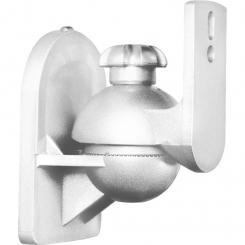 Paar Lautsprecherhalter weiß <3,5kg Heimkino HiFi Weiß