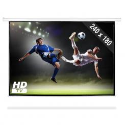 Beamer Leinwand 240x180cm Heimkino Projektor HDTV 4:3