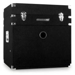"Kombi Case Filzbezug Koffer Rack 8/10 HE 48cm (19"") Geräte"