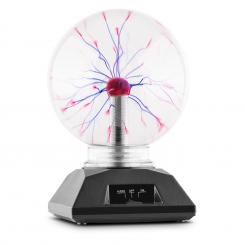 Plasma Plasmakugel Plasmalampe Blitzkugel 20 cm Musiksensitiv