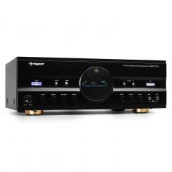 AMP-218 5.1-Receiver 600W max. Design-Blende schwarz