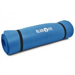 Yogamatte Gymnastikmatte 190x80cm 15mm blau Blau