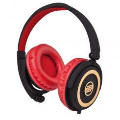 RHP-5 DJ-Kopfhörer mit Mikrofon cherry black
