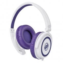 RHP-5 DJ-Kopfhörer mit Mikrofon purple milk