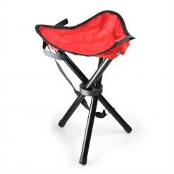 KT-Trestle mobiler Campingstuhl Angelsitz rot schwarz 500g Rot