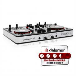Kontrol 3 USB-MIDI DJ-Controller Soundkarte