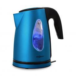 SS17 Wasserkocher 2200W 1,7l LED-Lichteffekt Cool-Touch blau
