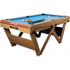 FSPW-6 Billardtisch Pool Snooker klappbar 183 x 79 x 97cm
