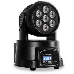 LMH350LED Mini Wash Movinghead 7 LEDs DMX 13-Kanal RGBW