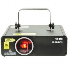 3D Objects Laser Effektlaser RGB 46 LEDs DMX