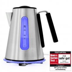 Aquavera Wasserkocher 1,7l rostfreier Edelstahl 2200W