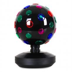 Disco-Ball-8-B LED-Lichteffekt Schwarz 20cm