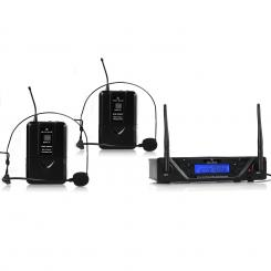 UHF-450 Duo2 2-Kanal UHF-Funkmikrofon-Set