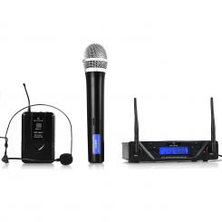 UHF-450 Duo3 2-Kanal UHF-Funkmikrofon-Set