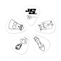 Plektren CWH6-10JS Joe Satriani COLLECTIBLE Guitar Picks 10er Pack