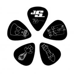 Plektren CBK2-10JS Joe Satriani COLLECTIBLE Guitar Picks 10er Pack