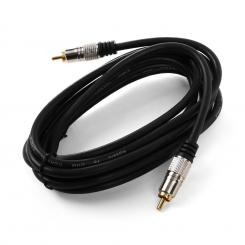 Koaxial-Kabel 3m digital Cinch 75Ohm