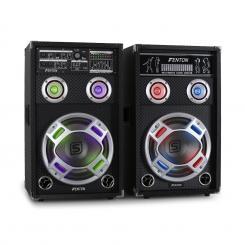 KA-10 aktives Karaoke-PA-Lautsprecher Set USB SD AUX