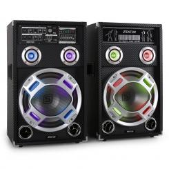 KA-12 aktives Karaoke-PA-Lautsprecher Set USB SD AUX