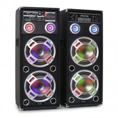KA-210 aktives Karaoke-PA-Lautsprecher Set USB SD AUX