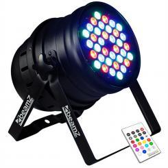 LED PAR 36 3W RGBW LED-PAR-Strahler 120W