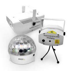 White Night Party Licht-Effekt-Set