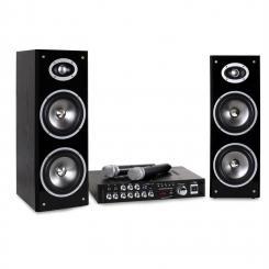 Karaoke-Star3-WM Karaoke-Anlage Set Bluetooth VHF USB MIC