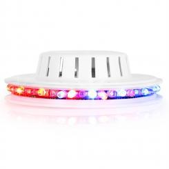 LED UFO Lichteffekt weiß RGB
