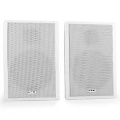 SSP501F-W Paar extra-flache 2-Wege-Wandlautsprecher weiß Weiß