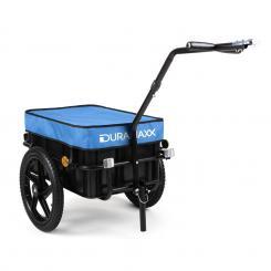 Big Blue Mike Fahrradanhänger Lasten Hochdeichsel 70L blau Blau