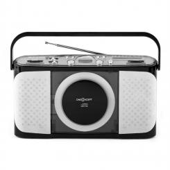 Boomtown-Beach portable CD-Player MP3 USB Radio vollmobil