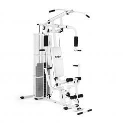Ultimate Gym 3000 multifunktionale Fitness-Station weiß