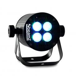LED PAR Lichteffekt 4 x 8W RGB-LED DMX