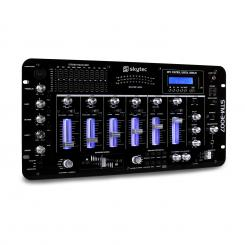 STM-3007 6-Kanal DJ-Mischpult Bluetooth USB SD MP3