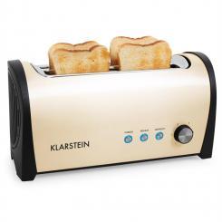 Cambridge Doppel-Langschlitz-Toaster 1400W creme Creme