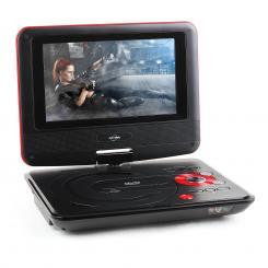 "Inovalley LDD-38 portabler DVD-Player 7"" LCD-Display USB SD MMC"