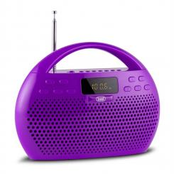 KB 308 BT Radio Digital Boombox Bluetooth USB microSD violett