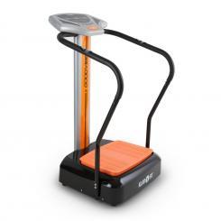 Goodvibe Vibrationstrainer Trainingscomputer Pulsmesser Bodenrollen Orange