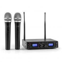 Duett Pro V1 2-Kanal UHF-Funkmikrofon-Set 50m Reichweite