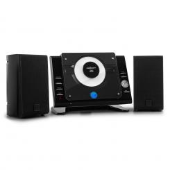 Vertical 70 Stereoanlage CD USB MP3 AUX schwarz Schwarz