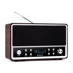 Charleston DAB+-Digitalradio tragbar UKW RDS Wecker
