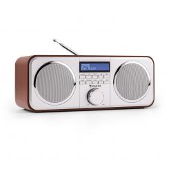 Georgia DAB-Radio DAB+ UKW Senderspeicher Wecker AUX Kirsche Kirschbaum
