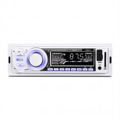 MD-185 Autoradio MP3 USB SD UKW AUX Pre-Out weiß