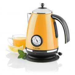 Aquavita Chalet Wasserkocher orange 1,7 Liter 2200W Orange