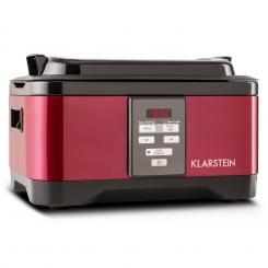 Tastemaker Sous-vide Garer Slow Cooker 6l 550 W Edelstahl rot Rot