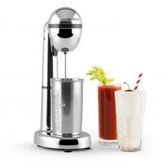 van Damme Drink-Mixer Shaker 100W 450 ml Edelstahl-Mixbecher silber Silber