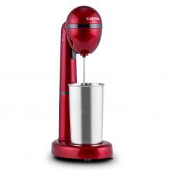 van Damme Drink-Mixer Shaker 100W 450 ml Edelstahl-Mixbecher rot Rot