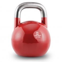 Compket 32 Competition Kettlebell Kugelhantel Stahl 32kg Rot 32 kg